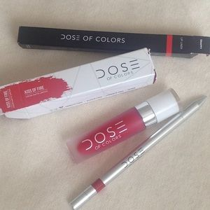 Dose of colors, matte lipstick and lip liner